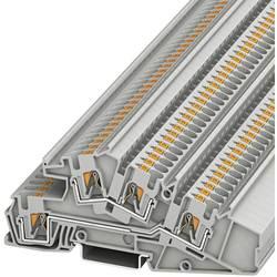 Trokatna prolazna stezaljka PTI 4-L/L 3214052 Phoenix Contact broj polova: 4 0.2 mm 6 mm siva 50 kom.
