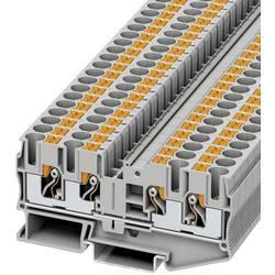 Prolazna stezaljka PT 6-QUATTRO 3212934 Phoenix Contact broj polova: 4 0.5 mm 6 mm siva 50 kom.