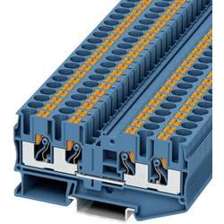 Prolazna stezaljka PT 6-QUATTRO BU 3212947 Phoenix Contact broj polova: 4 0.5 mm 6 mm plava 50 kom.