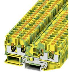 Stezaljka za zaštitni vodič PT 6-QUATTRO-PE 3212950 Phoenix Contact broj polova: 4 0.5 mm 6 mm zeleno-žuta 50 kom.