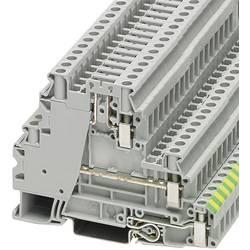 Stezaljka za zaštitni vodič UT 4-PE/L/TG 3214365 Phoenix Contact broj polova: 5 0.14 mm 6 mm siva 50 kom.