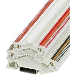 Dvokatna prolazna stezaljka PTTBS 1,5/S WH/U-BK/O-RD 3214662 Phoenix Contact broj polova: 4 0.14 mm 1.5 mm bijela 50 kom.