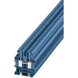 Prolazna stezaljka MUT 2,5 BU 3248031 Phoenix Contact broj polova: 2 0.2 mm 4 mm plava 50 kom.