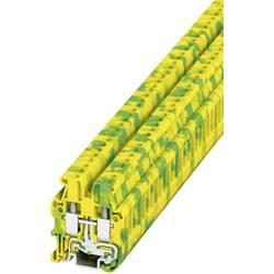 Stezaljka za zaštitni vodič MUT 2,5-PE 3248032 Phoenix Contact broj polova: 2 0.2 mm 4 mm zeleno-žuta 50 kom.