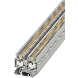 Prolazna stezaljka MPT 1,5/S 3248100 Phoenix Contact broj polova: 2 0.14 mm 1.5 mm siva 50 kom.