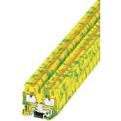 Stezaljka za zaštitni vodič MPT 1,5/S-PE 3248110 Phoenix Contact broj polova: 2 0.14 mm 1.5 mm zeleno-žuta 50 kom.