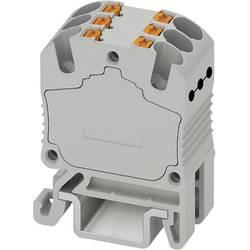 Razdjelni blok PTFIX 6X1,5-NS15A BU 3002919 Phoenix Contact broj polova: 6 0.14 mm 1.5 mm plava 20 kom.