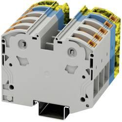 Visokostrujna stezaljka PTPOWER 50-3L/N/FE 3260056 Phoenix Contact broj polova: 10 10 mm 70 mm siva, plava, crno-žuta 2 kom.