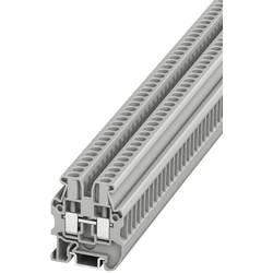 Prolazna stezaljka MUT 2,5 3248030 Phoenix Contact broj polova: 2 0.2 mm 4 mm siva 50 kom.