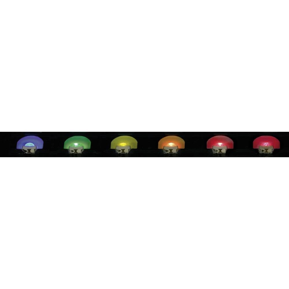 SMD-LED posebna oblika, zeleno-rumena 16 mcd 130 ° 20 mA 2 V Everlight Opto 12-215SYGC/S530-E1/TR8