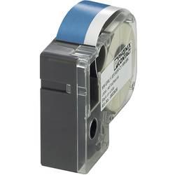 Labels til thermotransferprinter (value.1703217) Phoenix Contact MM-EMLF (EX12)R C1 BU/WH 803946 1 stk Blå , Hvid