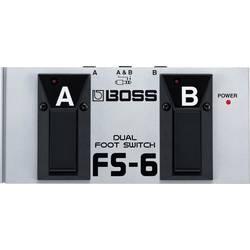 Fotpedal BOSS FS-6 Silver
