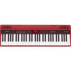 Roland GO:KEYS tastatura črna, rdeča s vključenim napajalnikom