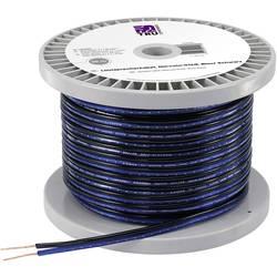 Kabel za zvočnike 2 x 1.65 mm² modre, črne barve TRU COMPONENTS 1564943 30 m