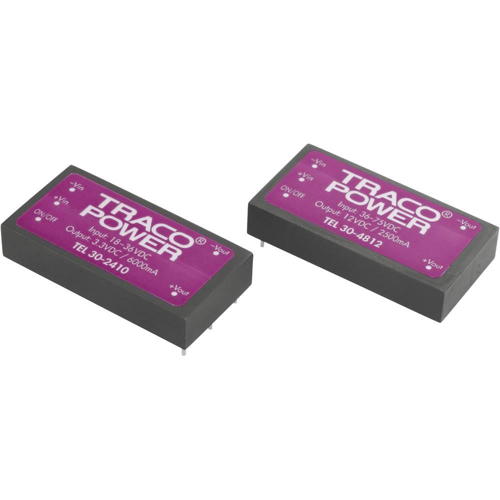 DC/DC pretvornik za tiskano vezje TracoPower TEL 30-2410 24 V/DC 3.3 V/DC 6 A 30 W št. izhodov: 1 x