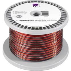 Kabel za zvočnike 2 x 1.35 mm² rdeče, črne barve TRU COMPONENTS 1565455 100 m
