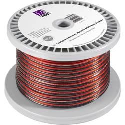 Kabel za zvočnike 2 x 1.65 mm² rdeče, črne barve TRU COMPONENTS 1566209 30 m