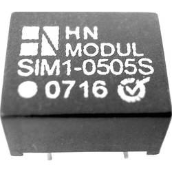 DC/DC pretvornik za tiskano vezje HN Power SIM1-0505S-DIL8 5 V/DC 5 V/DC 200 mA 1 W št. izhodov: 1 x