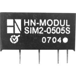 DC/DC pretvornik za tiskano vezje HN Power SIM2-0505S-SIL7 5 V/DC 5 V/DC 400 mA 2 W št. izhodov: 1 x