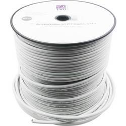 Omrežni kabel CAT 6 SF/UTP 8 x 2 x 0.196 mm² bele barve TRU Components 419326 100 m