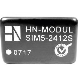 DC/DC pretvornik za tiskano vezje HN Power SIM5-0512S 5 V/DC 12 V/DC 250 mA 3 W št. izhodov: 1 x