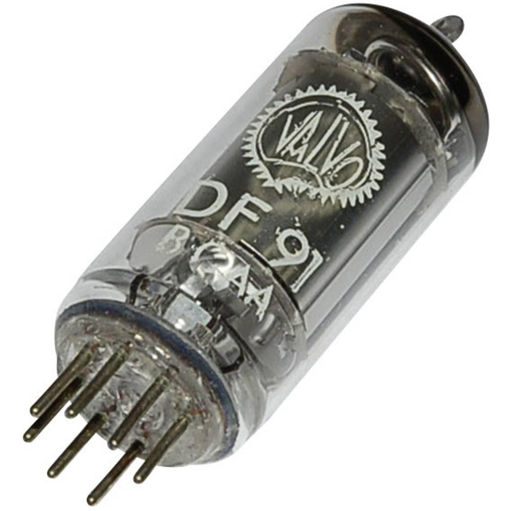 Elektronka DF 91 = 1 T 4 pentoda 45 V 1.7 mA št. polov: 7 podnožje: miniaturno