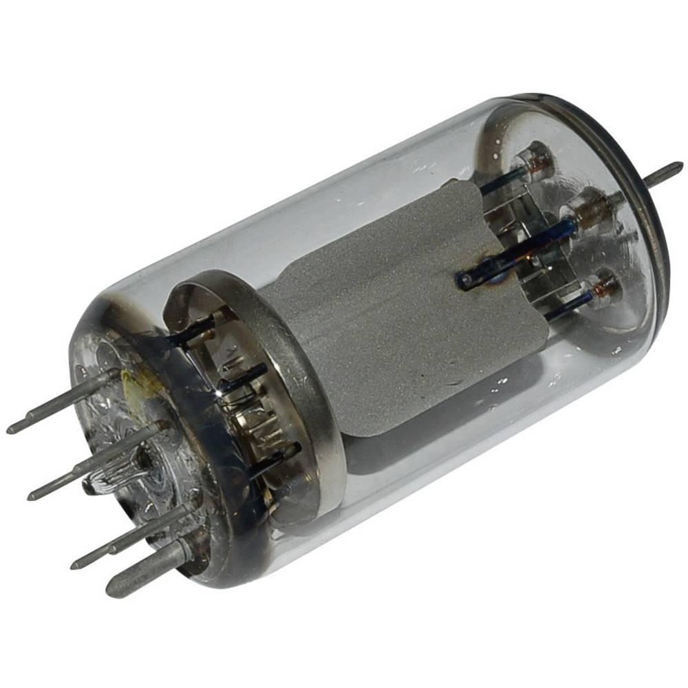 Elektronka QQE 06 / 40 = SRS 4451 dvojna tetroda 600 V 100 mA št. polov: 7 podnožje: septar