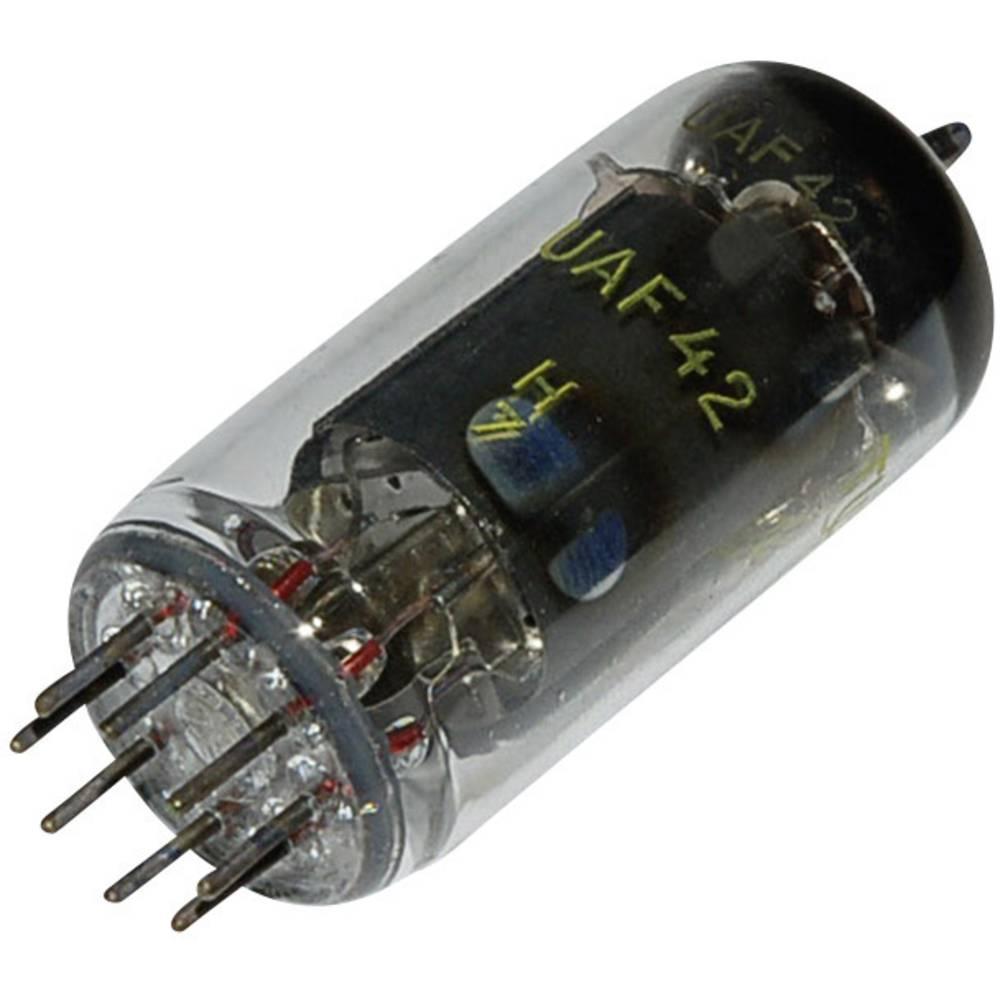 Elektronska cijev UAF 42 = 12S7 polovi: 8 Sockel 8pin Rimlock opis: Diode pentoda