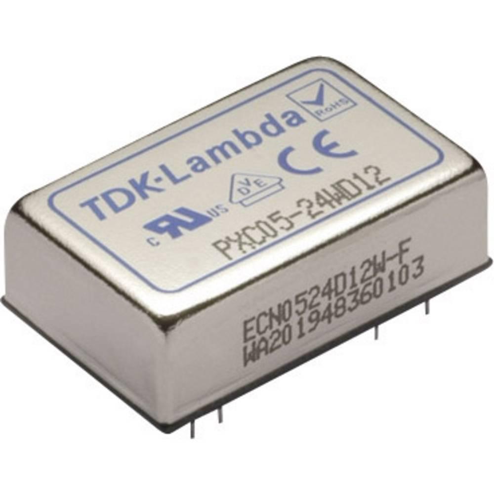 DC/DC pretvornik za tiskano vezje TDK-Lambda PXC05-24WD12 24 V/DC 12 V/DC, -12 V/DC 230 mA 5.52 W št. izhodov: 2 x