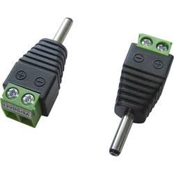 Niskonaponski utični konektor Ravni muški konektor 3.5 mm 1.3 mm TRU COMPONENTS LT-DC3.5M 1 ST