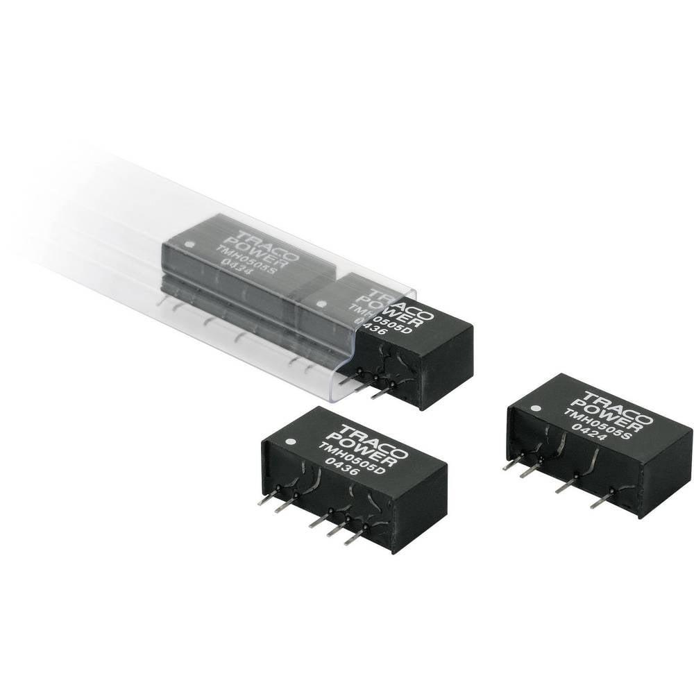DC/DC pretvornik za tiskano vezje TracoPower TMH 0515D 5 V/DC 15 V/DC, -15 V/DC 65 mA 2 W št. izhodov: 2 x