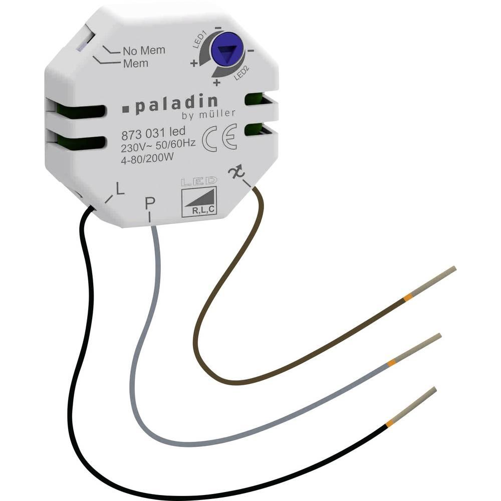 Müller 23811 podometni zatemnilnik Primerno za svetilke: LED žarnica bela