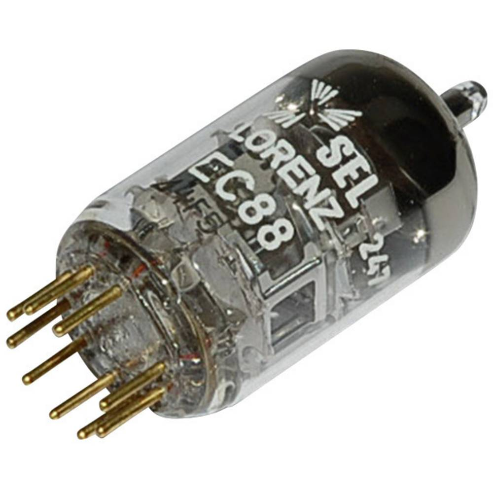 Elektronka EC 88 trioda 175 V 13 mA št. polov: 9 podnožje: novalno