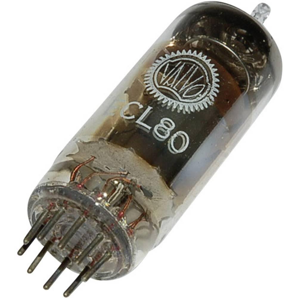 Elektronka ECL 80 trioda-pentoda 100 V, 20 V 8 mA, 2 mA št. polov: 9 podnožje: novalno