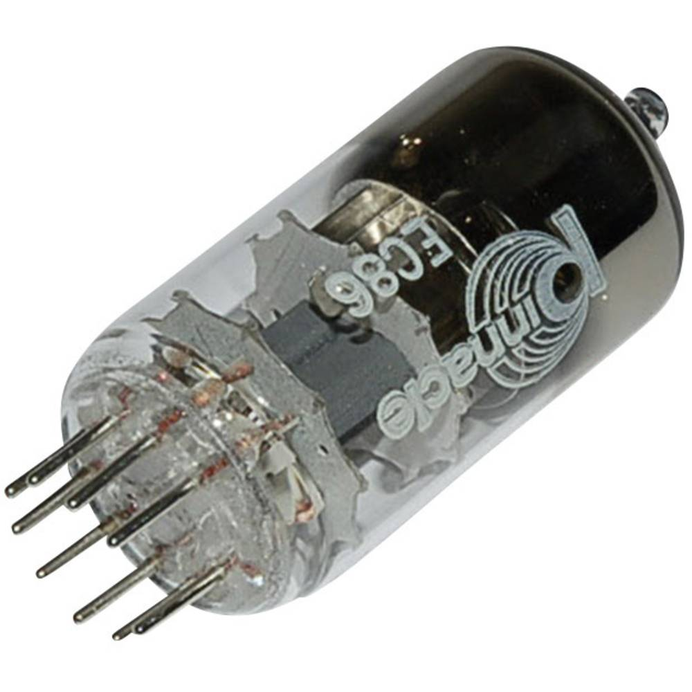 Elektronka EC 86 trioda 175 V 12 mA št. polov: 9 podnožje: novalno