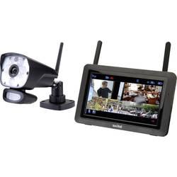 set nadzorne kamere 4-kanalni z 1 kamero Switel HSIP6000