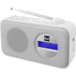 Dual DAB 84 prenosni radio dab+, ukw bela