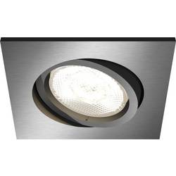 LED ugradbena svjetiljka 4.5 W topla bijela Philips Lighting Shellbark 5039199P0 antracit