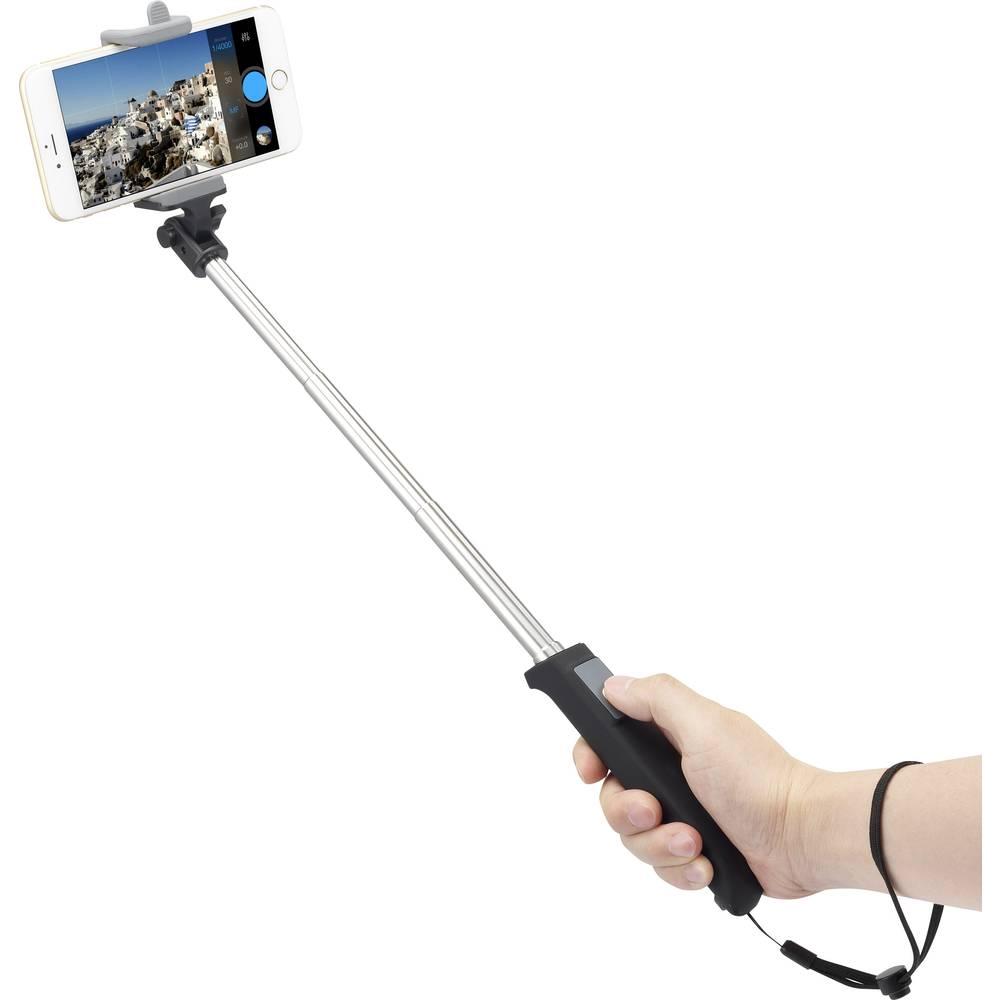 Drška za selfije Renkforce RF-SEST-PRO 9 cm crna