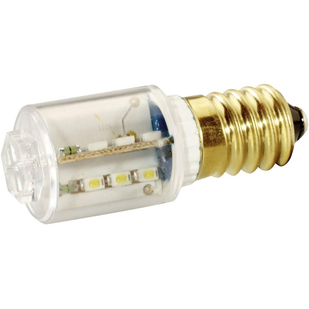LED žarnica E14 rdeča 24 V/DC, 24 V/AC 2400 mlm Signal Construct MBRE141604