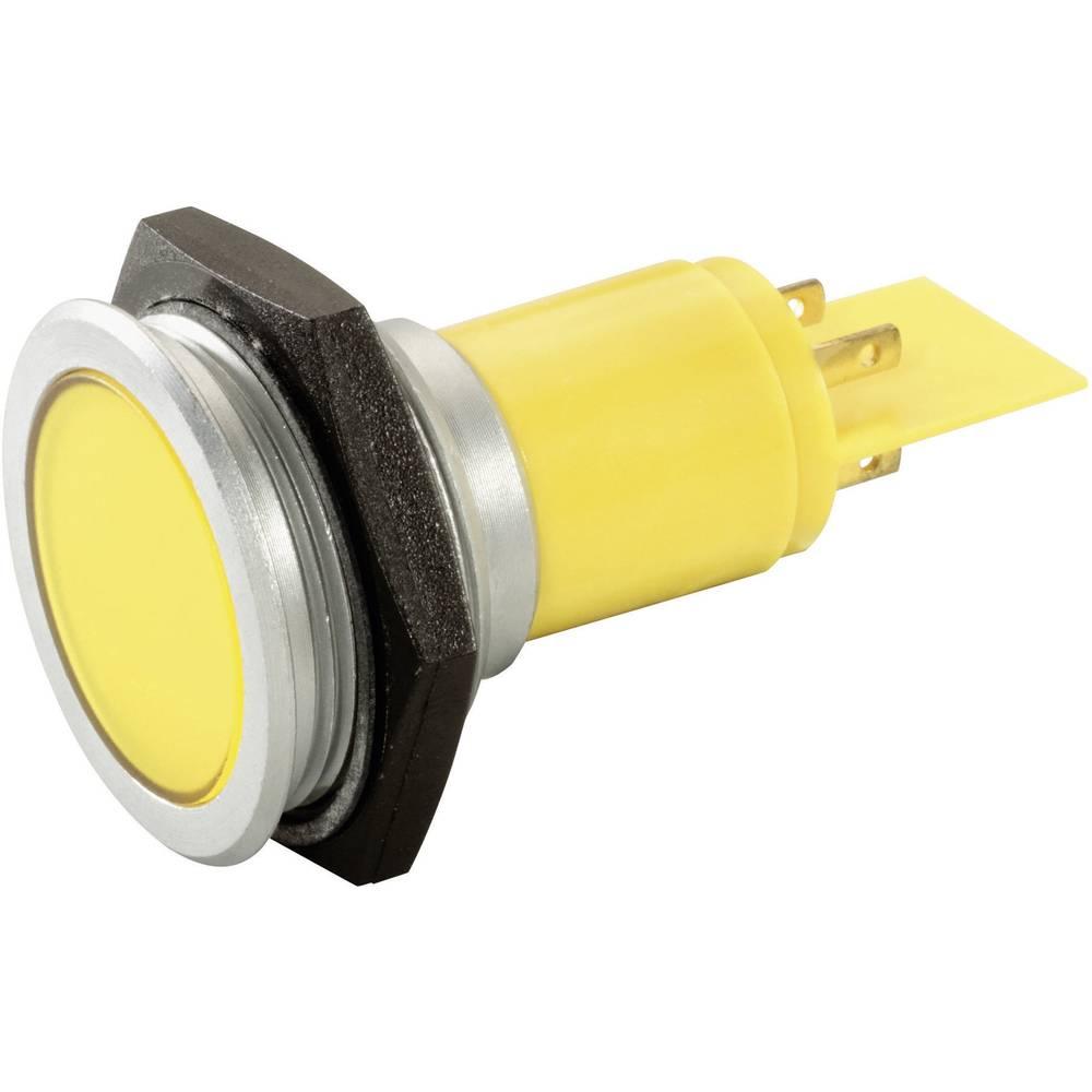 LED signalna lučka, rumena 230 V/AC Signal Construct SMFP30H1289