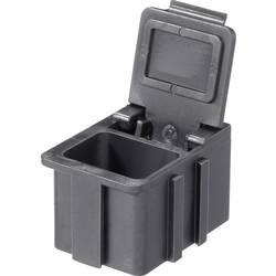 SMD-sorteringskasse, ledende, sort Licefa N1661010EGB (L x B x H) 16 x 12 x 15 mm