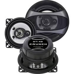 Crunch GTI-42 3-sistemski koaksialni zvočniki za vgradnjo 100 W Vsebina: 1 par