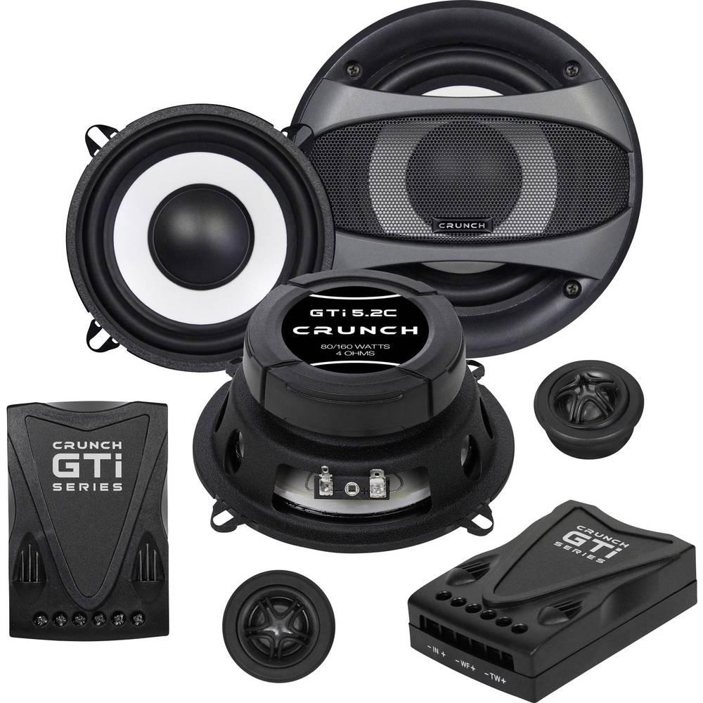 Crunch GTI-5.2c Komplet 2-sistemskih vgradnih zvočnikov 160 W Vsebina: 1 set