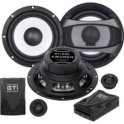 Crunch GTI-6.2c Komplet 2-sistemskih vgradnih zvočnikov 200 W Vsebina: 1 komplet