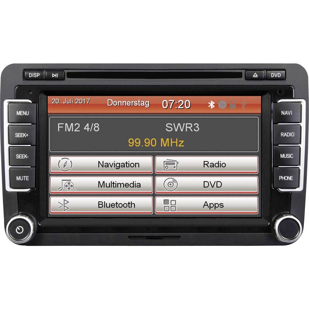 Moniceiver ESX VNS720-VW-U1 Håndfrit Bluetooth®-system