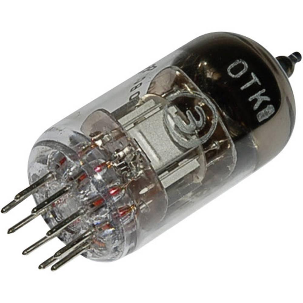 Elektronka 6 N 2 P = 6 H 2 n dvojna trioda 250 V 2.3 mA št. polov: 9 podnožje: novalno