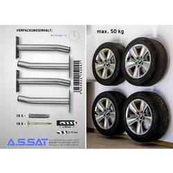 Stenski nosilec za pnevmatike A.S. SAT 15200 (D x Š x V) 35 x 13 x 17 cm