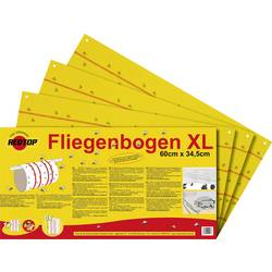 Redtop Fliegenbogen 31091 muholovka (D x Š) 600 mm x 345 mm rumena 6 KOS