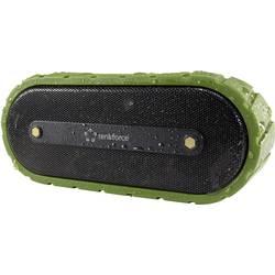 Bluetooth-högtalare 4.0 Renkforce AdventureBox1 Högtalartelefonfunktion, Stänkvattenskyddad, AUX;Svart-grön
